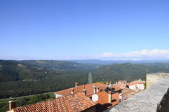 Motovun village in Croatia, Europe Stock Image