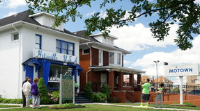 Motown Museum. The Motown Museum, also known as Hitsville U.S.A. is a former photographers studio located at 2648 West Grand Boulevard in Detroit, Michigan. It royalty free stock images