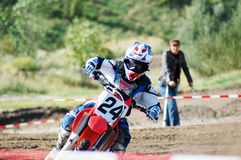 MotoX racing. Motocross race at summer in germany Stock Image