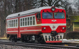 Motrice de l'unité AR2 dans Daudzeva Photos stock