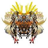 Motriz tropicais coloridos Foto de Stock