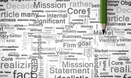 Mots-clés d'affaires Image libre de droits
