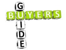 Mots croisé de guide d'acheteurs Photographie stock libre de droits