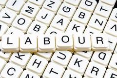 Mots croisé de travail de mot des textes La lettre d'alphabet bloque le fond de texture de jeu Photographie stock