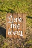Mots d'amour, texte d'amour, amour Image libre de droits