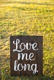 Mots d'amour, texte d'amour, amour Photos stock