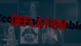 Mots de récession économique clips vidéos