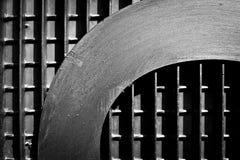 Mots en métal Photographie stock libre de droits