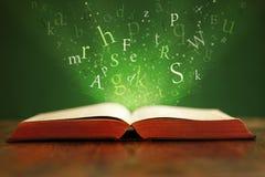 Mots magiques Photo libre de droits
