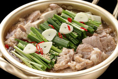 Motsunabe, japanese cuisine Stock Image