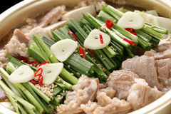 Motsunabe, japanese cuisine Stock Photos