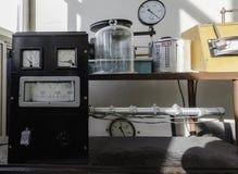 Motsvarighet som mäter instrument, thermotechnicshjälpmedel Fotografering för Bildbyråer