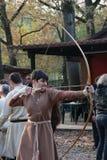 Motta Celtic Festival 2017- Historical reenactment Royalty Free Stock Photo