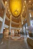 Mottagande och lobby i storslaget regelhotell för mirakel Fotografering för Bildbyråer