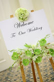 mottagandebröllop Royaltyfri Foto