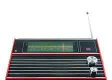 Mottagare för bärbar radio för transistor Arkivbild
