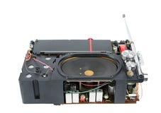 Mottagare för bärbar radio för transistor inom Arkivbilder