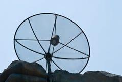 Mottagare för satellit- TV Arkivfoto