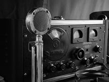 Mottagare för WWII Hallicrafters S36 Arkivfoton