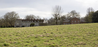 Mottisfont Abbey and stables Hampshire England Stock Images