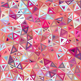 Mottled abstract triangles vector background Royalty Free Stock Photography