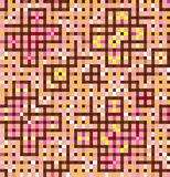 Mottled background of squares and rectangles Stock Image