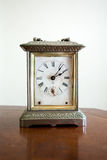 Mottled classic clock Stock Photos