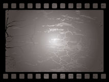 Mottled film background Stock Image