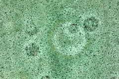 Mottled green ceramic background Stock Photography