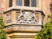Motto at Magdalene college, Cambridge, England. Royalty Free Stock Photos