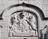 Motto von Belgien: L'unions-fait Lakraft Lizenzfreie Stockfotos