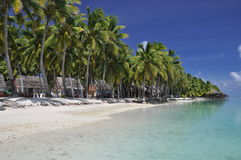 Motu Akitua in the Aitutaki Lagoon - Cook Islands Royalty Free Stock Image
