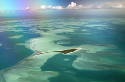 Motu Tabu Islet, Kiribati Stock Photography
