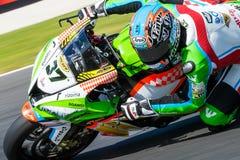 017 MOTUL FIM世界超级摩托车冠军 图库摄影