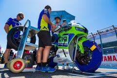 017 MOTUL FIM世界超级摩托车冠军 免版税库存照片