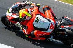 017 MOTUL FIM Superbike Światowy mistrzostwo Obrazy Royalty Free