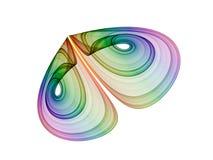 motyl abstrakcyjne Zdjęcie Royalty Free