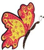 motyl dekoracyjny Zdjęcie Stock