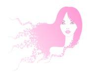motyl dziewczyna Fotografia Stock