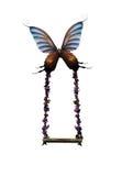 motyl huśtawka Zdjęcie Royalty Free