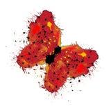 Motyl kleksy Obrazy Royalty Free