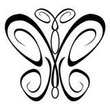 motyl ornamentacyjny Zdjęcia Stock
