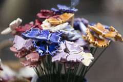 motyl ornamentacyjny Obraz Royalty Free