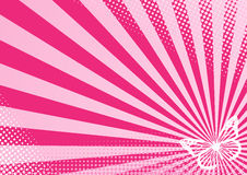 motyl różowy Obrazy Stock