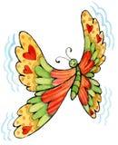 motyl rozochocony Zdjęcia Stock