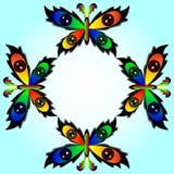 motyl stubarwny Zdjęcie Royalty Free