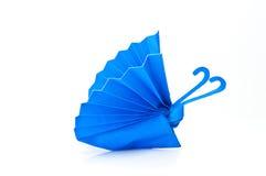 Motyla błękitny papier Ilustracji