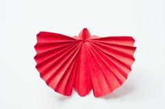 Motyla czerwony papier ilustracji