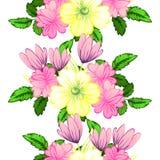 motyla opadowy kwiecisty kwiatów serca wzoru kolor żółty Fotografia Royalty Free