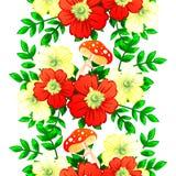 motyla opadowy kwiecisty kwiatów serca wzoru kolor żółty Fotografia Stock